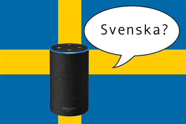 När kommer Amazon Echo / Alexa på svenska?